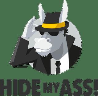 HideMyAss Landing Page