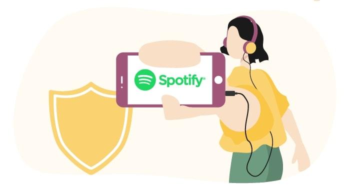VPN för Spotify